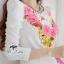 ( พร้อมส่งเสื้อผ้าเกาหลี) เดรสลุคหรูหรา เนื้อผ้ามี textureเป็นคลื่นลอนในตัวนะคะ ดีเทลพิมพ์ลายลวดลายชัด สีสดสวย เก็บทรงเข้ารูปเน้นซิลลูเอทเว้าโค้งสวย ไหล่เย็บยกตั้งขึ้นเล็กน้อยนะคะเสริมบุคลิก เนื้อผ้ามีน้ำหนัก thumbnail 7