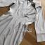 เสื้อผ้าเกาหลีพร้อมส่ง เชิ้ตเดรสผ้าคอตตอนลายทางสไตล์มินิมัล thumbnail 11