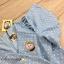 เสื้อผ้าแฟชั่นพร้อมส่ง จั้มสูทสกรีน Polka dot สีเงินคมชัด thumbnail 3