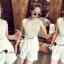 เสื้อผ้าเกาหลี พร้อมส่ง Princess Ivora Lace Set thumbnail 5
