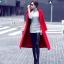 Long red coat thumbnail 4