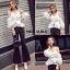 เสื้อผ้าเกาหลีพร้อมส่ง เสื้อสวยทรงสวยบอกเลยว่าเริศมาก thumbnail 4