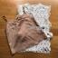 เสื้อผ้าแฟชั่นพร้อมส่ง เสื้อผ้าลูกไม้ขาวทรงแขนกุดพร้อมซับในสีนู้ด thumbnail 8