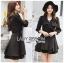 Jasmine Feminine Chic Black Outer Dress thumbnail 4