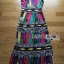 Alice Vivid Colorful Graphic Printed Maxi Dress thumbnail 8