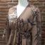 เสื้อผ้าเกาหลีพร้อมส่ง จั้มสูทงานผ้าดี๊ดี มาในสีน้ำตาล ลายต้นไผ่ thumbnail 8