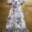 Miranda Country Chic Blossom Ruffle Wrap Dress thumbnail 7