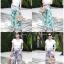 เสื้อผ้าเกาหลีพร้อมส่ง กางเกงทรงกระบอกงานZara thumbnail 6