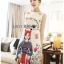 Anne Dreamy Fantasy Printed Dress thumbnail 1