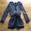เสื้อผ้าเกาหลี พร้อมส่ง จัมป์สูทขาสั้นพิมพ์บายกรางฟิกสไตล์ชนเผ่าแบบโมเดิร์น thumbnail 15