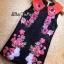 ชุดเดรสเกาหลีพร้อมส่งเดรสปักดอกไม้ งานปักมือปราณีตสวยหรูตกแต่ง thumbnail 1