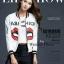 เสื้อผ้าเกาหลี พร้อมส่งเสื้อแจ๊คเก๊ตลายใหม่ล่าสุดจากแบรนด์ ANNA KIKI thumbnail 1