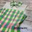 เสื้อผ้าเกาหลี พร้อมส่งชุดจั๊มสูทลายตารางผ้าโพลีเกรดพรีเมี่ยมสีพาสเทล thumbnail 4