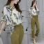 เสื้อผ้าเกาหลี พร้อมส่งGreen Garden Luxury Set thumbnail 7