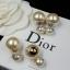 พร้อมส่ง Christian Dior Earring ต่างหูมุด Dior งานอย่างดี thumbnail 4
