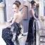 LBT Classy Feather V-Back Maxi Dress thumbnail 3
