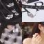 Swarovski Set ต่างหู+สร้อยคอหงษ์คู่งานชวารอฟสกี้ งานอย่างดีค่ะ thumbnail 5