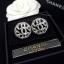 พร้อมส่ง Chanel Earring ต่างหูชาแนลงานเพชร CZ แท้ เพชรเกรด 6A thumbnail 2