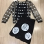 เสื้อผ้าเกาหลี พร้อมส่ง DG Luxury Top + Skirt Set thumbnail 6