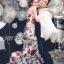 Dolce & Gabbana Red Roses Printed Evening Dress thumbnail 4