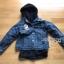 Karina Denim Jacket Shearling Hood Coat Set thumbnail 7