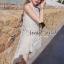 ( พร้อมส่ง) Set White Cami Blossom Lace match with Short by Seoul Secret thumbnail 3
