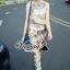 เสื้อผ้าเกาหลี พร้อมส่งเซ็ตเสื้อกางเกงงานพิมพ์ลายดอกไม้สไตล์สาววินเทจ thumbnail 7