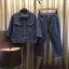 เสื้อผ้าแฟชั่นพร้อมส่ง เซ็ท เสื้อ+กางเกง ยีนส์แท้ 100% thumbnail 1