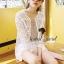 ( พร้อมส่งเสื้อผ้าเกาหลี) เสื้อคลุมผ้าลูกไม้ Organdy ปักและฉลุลายทั้งตัว ลายปักสไตล์คลาสสิค เก๋ๆ ด้วยทรงเสื้อคลุมแขนยาว สาวๆ ใส่ Match กับเสื้อยืด หรือ เสื้อกล้ามก็ดูสวยชิคมากคะ Mix&Match ได้หลายสไตล์เลยนะคะ thumbnail 4