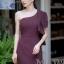 ชุดเดรสเกาหลีพร้อมส่ง Dress เข้ารูป ทรงสวย เรียบ หรู ดูไฮคลาส thumbnail 3