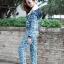 เสื้อผ้าแฟชั่นพร้อมส่ง D&G SET เสื้อ + กางเกง thumbnail 3