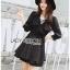 Jasmine Feminine Chic Black Outer Dress thumbnail 3
