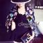( พร้อมส่งเสื้อผ้าเกาหลี) Jacket ลายพิมพ์สวยมากคะ เป็นลายพิมพ์ลายนกฮูก สีสันผสมผสานกันออกมาได้สวยมากๆ มีเทคนิคการพิมพ์แบบสีวาดดูมีมิติ thumbnail 3