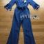 เสื้อผ้าเกาหลี พร้อมส่งจัมป์สูทผ้าเดนิมผูกโบที่เอวสไตล์ลำลอง thumbnail 12