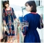 Ariana Bohemian Colorful Embroidered Cotton Dress thumbnail 7