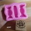 silicone mold ทำวุ้น กัมเพส ฟองดอง ลาย ทอฟฟี่ 3 ช่อง thumbnail 3