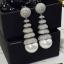พร้อมส่ง Diamond Earring ต่างหูเพชร CZ thumbnail 3