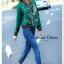 เสื้อผ้าเกาหลี พร้อมส่ง เสื้อแจ๊ตเก็ตลายเอกลักษณ์แบรนด์ Gucci thumbnail 6