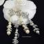 พร้อมส่ง Chanel Diamond Earring ต่างหูเพชร Swarovski thumbnail 4