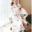 Paulene Sretsis Princess Embroidered Lace Long Dress thumbnail 5