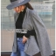 Sandy Classic Prince of Wales Check Cape Suit thumbnail 2