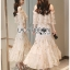 Matilda Gold Sequin Embroidered Tulle Ruffle Dress thumbnail 4