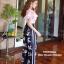 เสื้อผ้าเกาหลีพร้อมส่ง จั้มสูทขายาวสีชมพูน่ารักสดใส thumbnail 4
