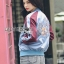 Yuna Street Chic Embroidered Two-Toned Bomber Jacket thumbnail 4