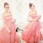 ชุดเดรสเกาหล ีพร้อมส่งPinky Garden Dress thumbnail 3