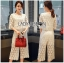 Ariana Round n' Round Cotton Embroidered Top and Pants Set thumbnail 4