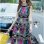 Alice Vivid Colorful Graphic Printed Maxi Dress thumbnail 7