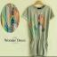 เสื้อผ้าเกาหลี พร้อมส่งมินิเดรสผ้า COTTON100% thumbnail 3