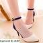 Style ZARA High-Heels Flannel แบบขายดี @ รองเท้าส้นสูงสไตล์ ZARA thumbnail 1