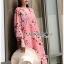 Soda Pretty Pink Floral Dress thumbnail 2